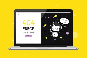 404 error page. Page not found.