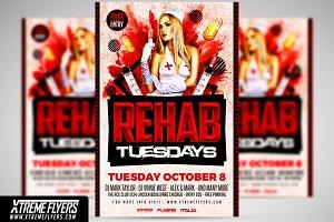 Rehab Tuesdays Flyer Template