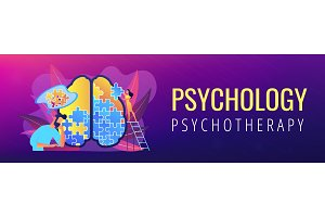 Psychotherapy and psychology header