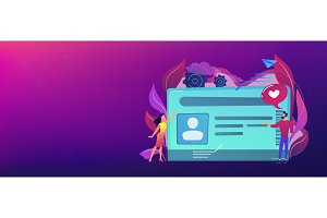 Smart ID card header banner.