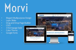 Morvi - Wordpress Portfolio Theme