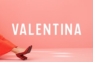 VALENTINA - Androgynous Display Font