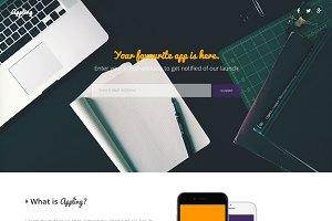 Appling - Landing Page
