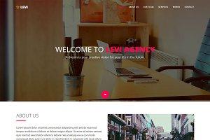 Levi - Agency & Portfolio Template