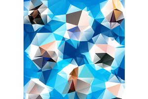 Set of Triangle Backgrounds