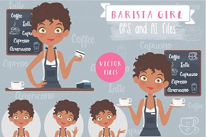 Barista Girl Set