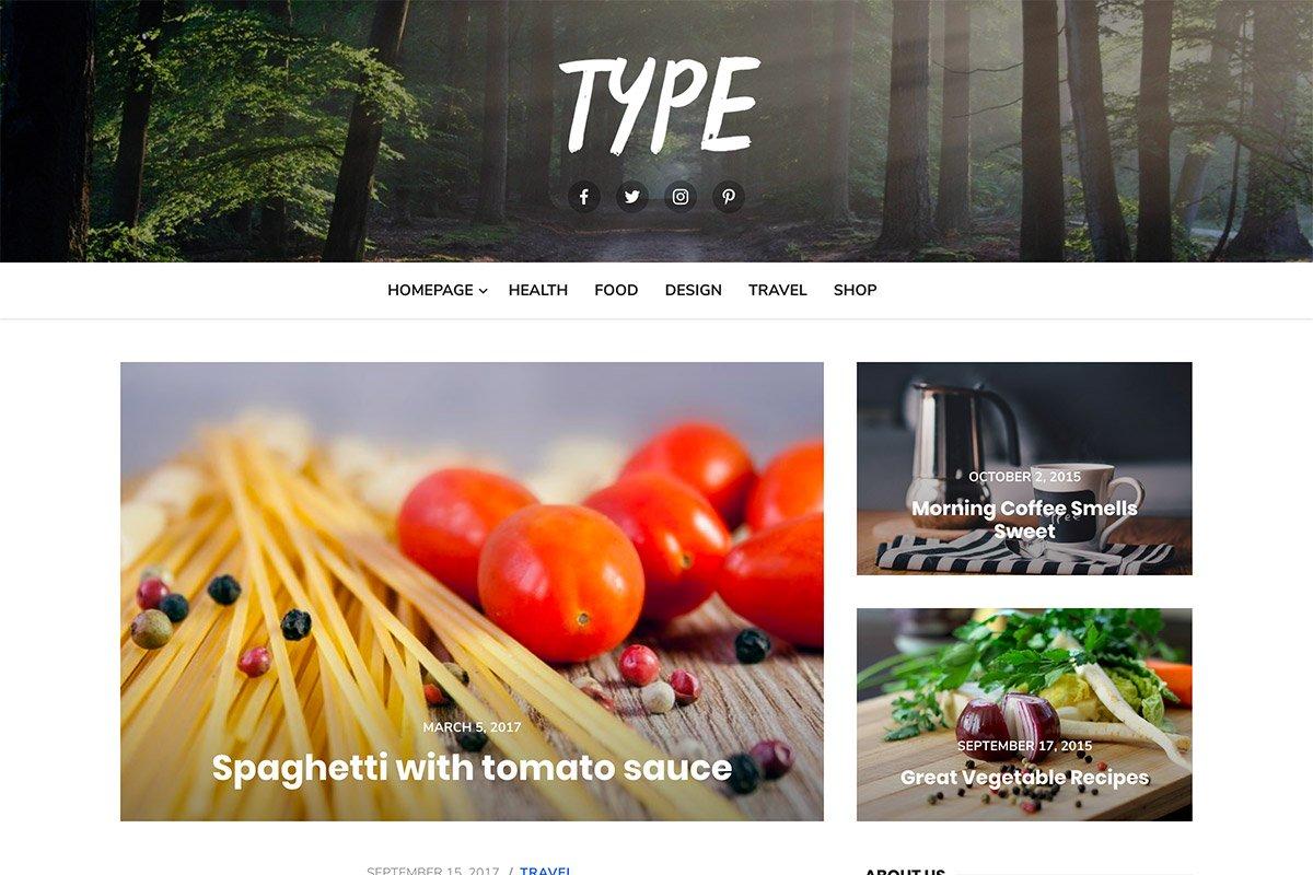 Type Plus - Magazine WordPress Theme