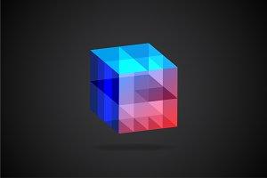 Cube 3D Logo