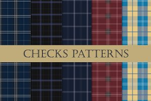 Vector Patterns - Checks
