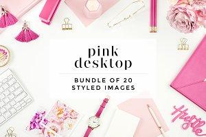 Pink Desktop Bundle (20 Images)