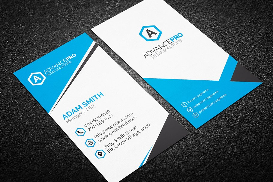 Modern business card template business card templates creative previous accmission Gallery