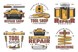 House repair and construction tools