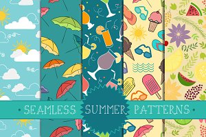 Seamless Summer Patterns Part 2