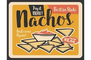 Nacho mexican fast food