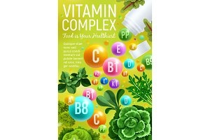 Vitamin and mineral in veggies