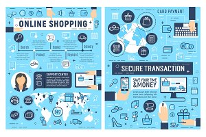 Online shopping and card payment