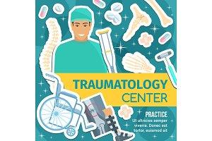 Traumatology, joint rehabilitation
