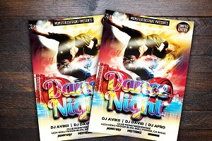 Dance Night Party Flyer