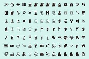 194 icons