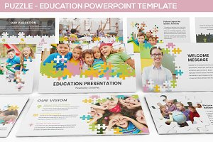 Puzzle - Education Powerpoint