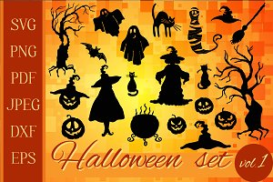 Halloween graphic set 20 in 1
