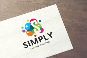 Letter S - Simply Logo