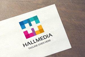 Letter H - Hall Media Logo