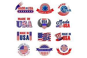 Made in USA quality tags