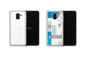 Galaxy J6 2d Frosted RubberFlex Case