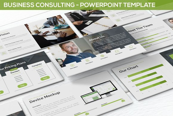 business consulting powerpoint presentation templates creative