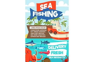 Sea fishing and seafood delivery