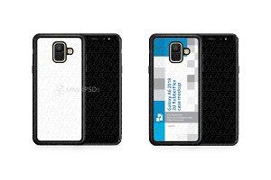 Galaxy A6 2d RubberFlex Mobile Case