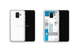 Galaxy A6 2d Frosted RubberFlex Case