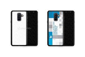 Galaxy A6 Plus 2d RubberFlex Mobile