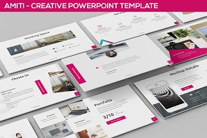 Amiti - Creative Powerpoint Template