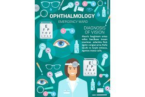 Ophthalmology medical clinic