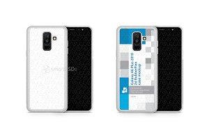 Galaxy A6 Plus 2d RubberFlex Case