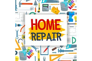 Home repair, construction work tools