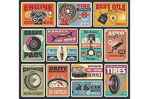 Car tire fitting, diagnostic service