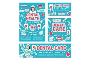 Dental care and dentistry checkup