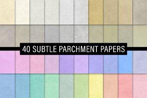 Subtle Parchment Papers