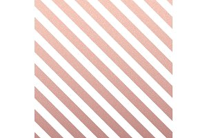 Rose Gold glittering diagonal lines