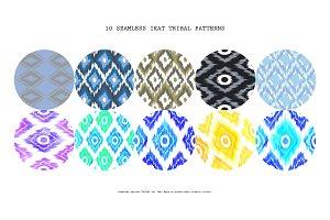 10 Tribal Ikat Art
