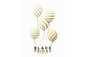 Black Friday, design sale banner,
