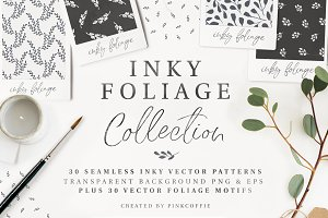 30 Seamless Patterns + 30 Motifs