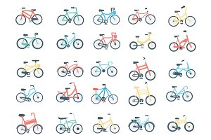 40 Bicycle Icon