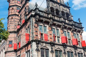 The old town hall in The Hague