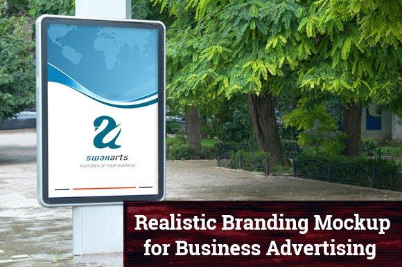10 outdoor advertising mockups product mockups creative market