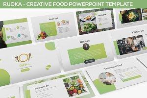 Ruoka - Food Powerpoint Template