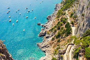 Paradise on island Capri
